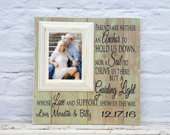 Wedding Gift for Parents, Thank You Gift For Parents, Wedding Gift Parents, Parents of the Bride, Parents of the Groom, RAW, 16 x 16
