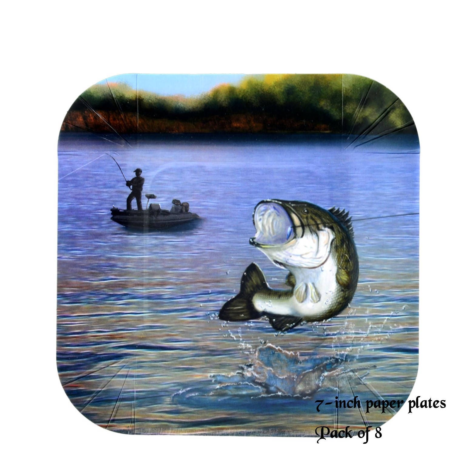+ $4.00 shipping  sc 1 st  Etsy Studio & bass fishing plates fish plates Fathers Day ideas mens birthday ...