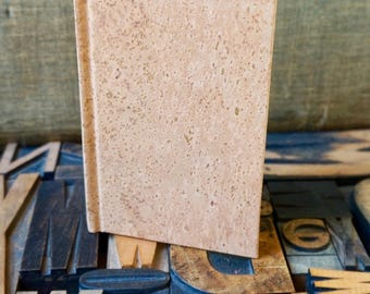 Cork Paper Wine Journal - Small. Pocket Sized
