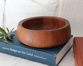 Vintage Dansk Teak Bowl