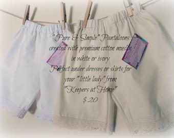 Pure & Simple Cotton Pantaloons
