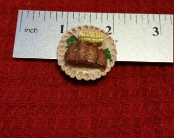 Miniature ribs/Polymer clay ribs