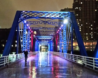 Blue Bridge Photo Print