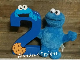 Cookie Monster birthday, Cookie monster letters,Cookie monster props,Cookie monster birthday shirt,Cookie monster invites,Sesame St birthday