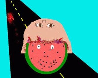 Flesh eats Watermelon, Finally