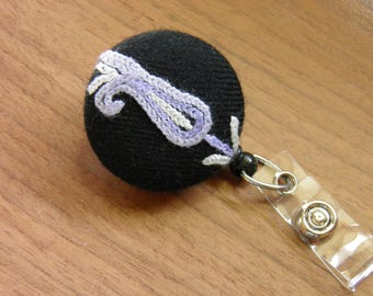 Embroidered Badge Reel