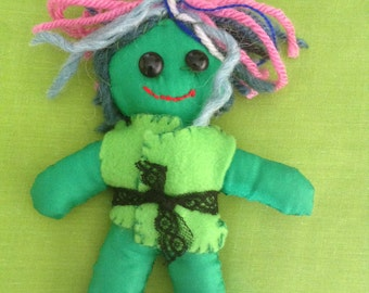 Art doll #16 - Free delivery to the UK