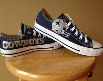 Dallas Cowboy hand painted Shoes