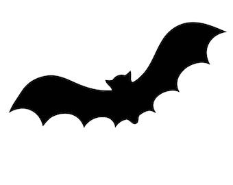 Pack of 3 Halloween Bat Stencils, 16x20, 11x14 and 8x10