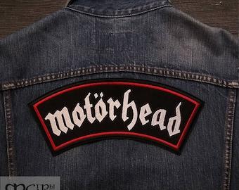 Big Back Patch Motorhead logo Band.