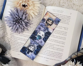 Bookmark featuring Bellatrix Legstrange and Voldemort