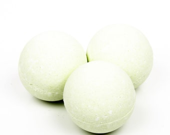 Spearmint Eucalyptus Bath Bomb - One All Natural Bath Bomb - Aromatherapy Bath Bomb