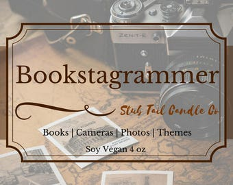 Bookstagrammer - Seasonal - Winter - Soy Scented Candle
