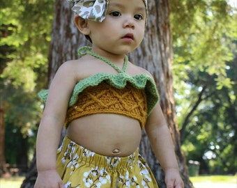 PIÑA Fruity Crop Top (Pineapple)