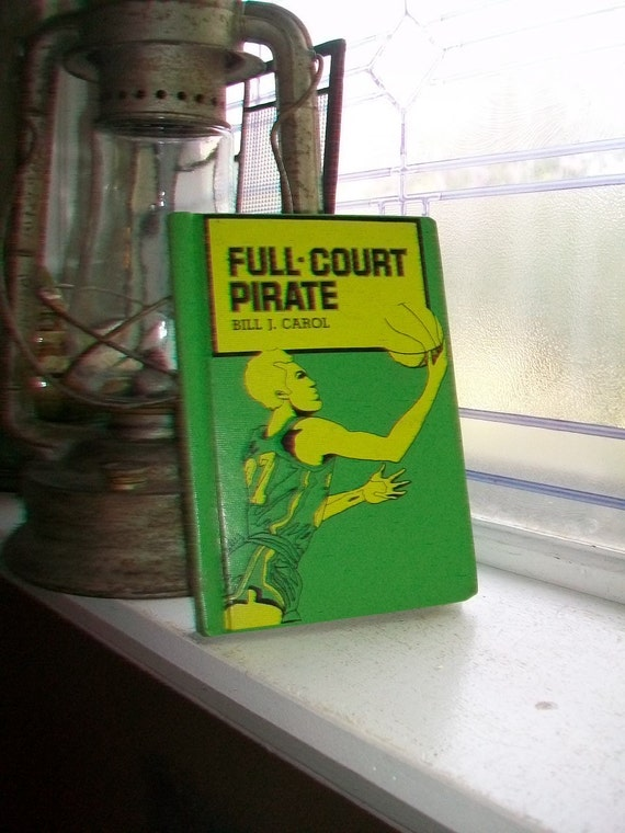 Full Court Pirate Vintage 1965 Basketball Book