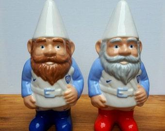 Personalised Ceramic Garden or Indoor Gnome Football Gift Football Gnome Football Team Unique Gift Quirky Gift Personalized Gnome One Gnome