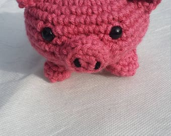 Crochet Plush Pig