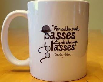 Dorothy Parker quote mug