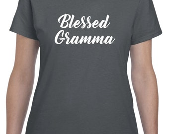 Gramma Gift Gramma Shirt Blessed Gramma Mothers Day Gift