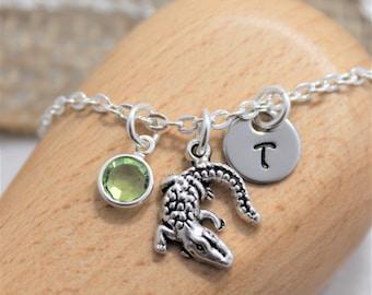 Alligator Necklace - Personalized - Gator Necklace - Alligator Jewelry - Alligator Gifts