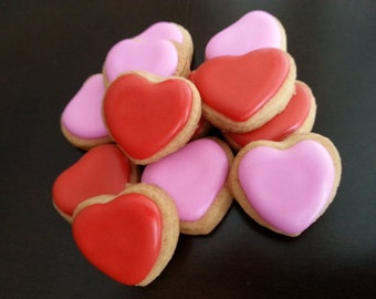 Mini Heart Cookies (4 dozen)