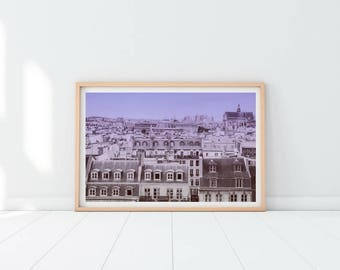 Paris Printable Print, Paris Decor, Paris Wall Art, Paris Photography, European Art Print, Architecture Wall Art, Vintage City Art