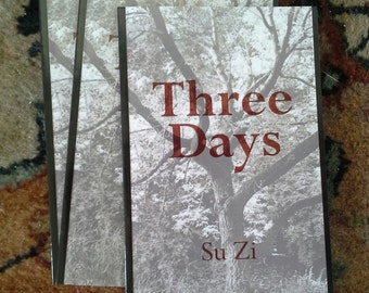 Three Days: Poetry Chapbook