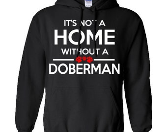 Doberman Pinscher Hoodie, Doberman Hoodie, Doberman Hoodie, California State Flag Hoodie, Doberman Shirt, Doberman Sweatshirt, Gift for Him