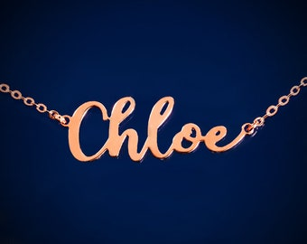 Personalized Name Necklace Custom Name Necklace Personalized Name Necklace Rose Gold Name Necklace Personalized Name Necklace For Her