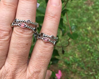 Multi-stone ring size/6