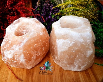Himalayan Salt Tea Light Holders