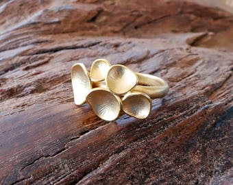 Gold Bubble Ring, stacking ring, stackable ring, gold ring, dainty ring, gift for her, gift for woman, bubble ring, boho ring, boho, jewelry
