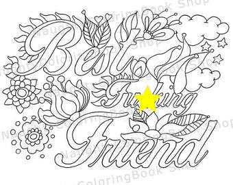Printable Naughty Coloring Book Printable Gifts Adult