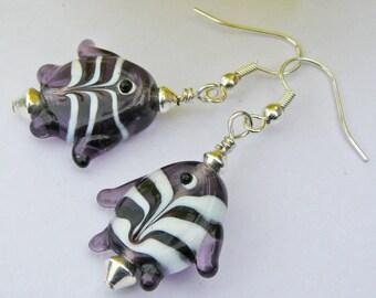 Fishing Around Earrings