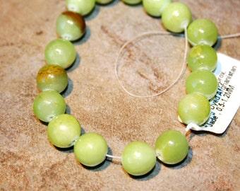 Afghanistan gefärbt Jade Runden 10mm
