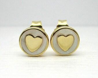 Authentic Pandora #267275EN23 Sweet Heart Statements Stud Earrings