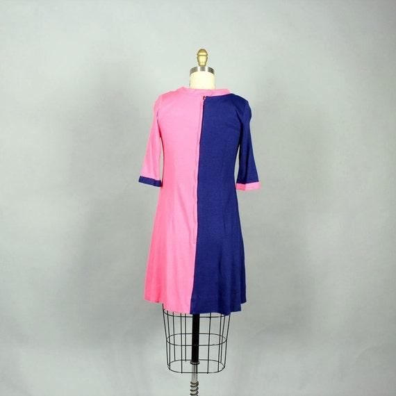 color pink shift navy dress bright 1960s small Pulitzer mod stripe Lilly green yellow size twiggy blue block dress dress hot SgSBZ8q