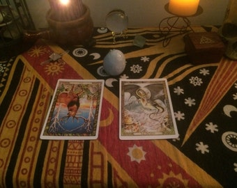 Two Card Message From The Druidic Animals, Same Day Reading