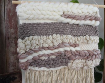 Woven Wall Hanging - Cinnamon and Sugar
