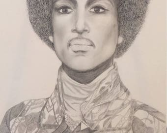 Prince Detailed Drawing
