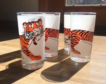 Tiger Print Glass