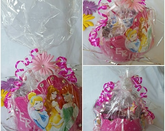10 Disney Princess Party Favors/Crown / Gift Bag/ Shipping Included