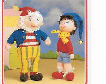 PDF Knitting Pattern - Noddy & Big Ears - Uses DK Yarn. PDF - Instant Download