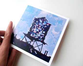 SOLD OUT Cards: Brooklyn Watertower (Set of 4)