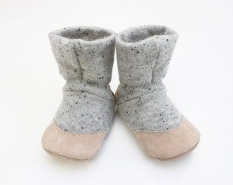 Baby booties, baby shoes, wool slippers, Baby girl slippers, baby moccasins, slipper boots, felted slippers, felted shoes, 12-18m, 18-24m