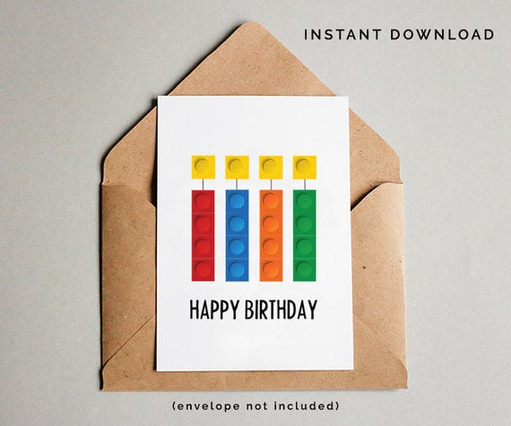 Building bricks birthday card boys birthday card boys building bricks birthday card boys birthday card boys printable birthday card instant download bookmarktalkfo Image collections