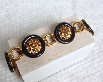 Bracelet Marie Claire Paris, vintage but nine, french jewelry, fashionista accessories