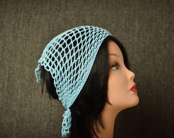 Hair Loss Headband, cotton head bandana, head kerchief, hair wrap, head scarf, summer hair accessories