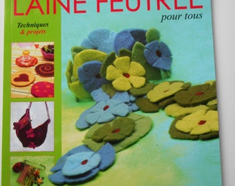 """Book """"Felted Creations"""" for all Techniques and projects"""