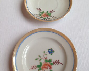 Orphan Vintage Lusterware Toy Dishes